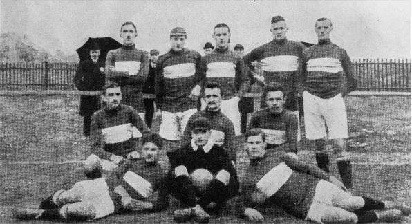 FC Wacker, Gaumeister 1908