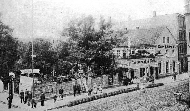 Erstes Vereinslokal des FC Wacker 1898