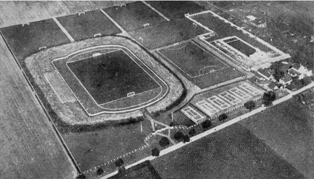 Wackerstadion, heute Stadion des Friedens
